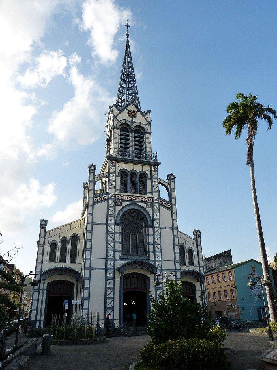 cathedrale saint-louis martinique